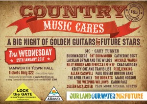 Lock the gate Country Music Cares Low Res